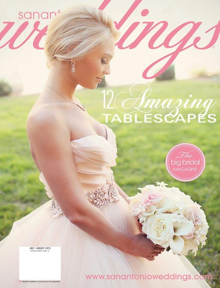 Featured in San Antonio Wedding Magazine