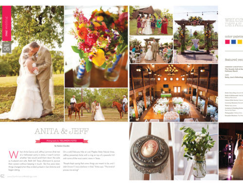 Featured in San Antonio Wedding Magazine!