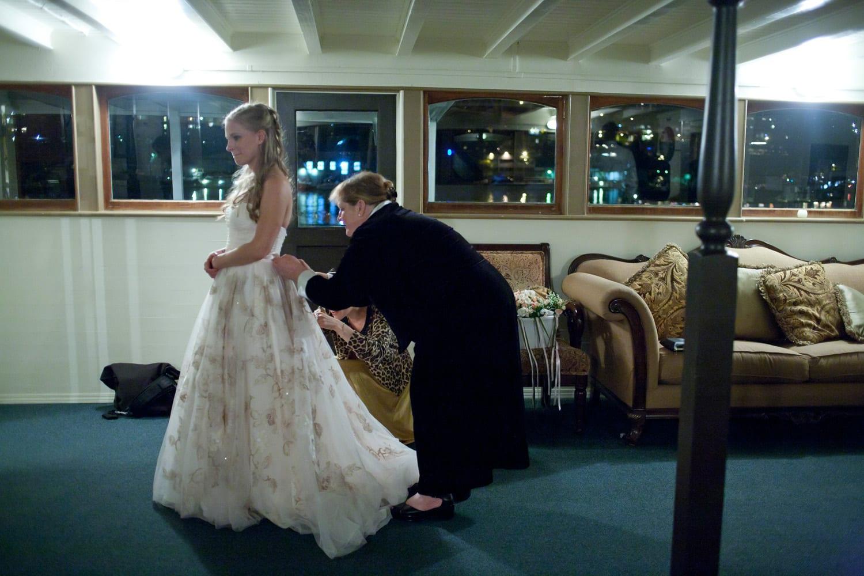 MV Skansonia Seattle Wedding