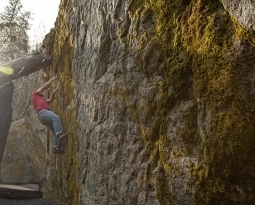 Climbing in Leavenworth WA